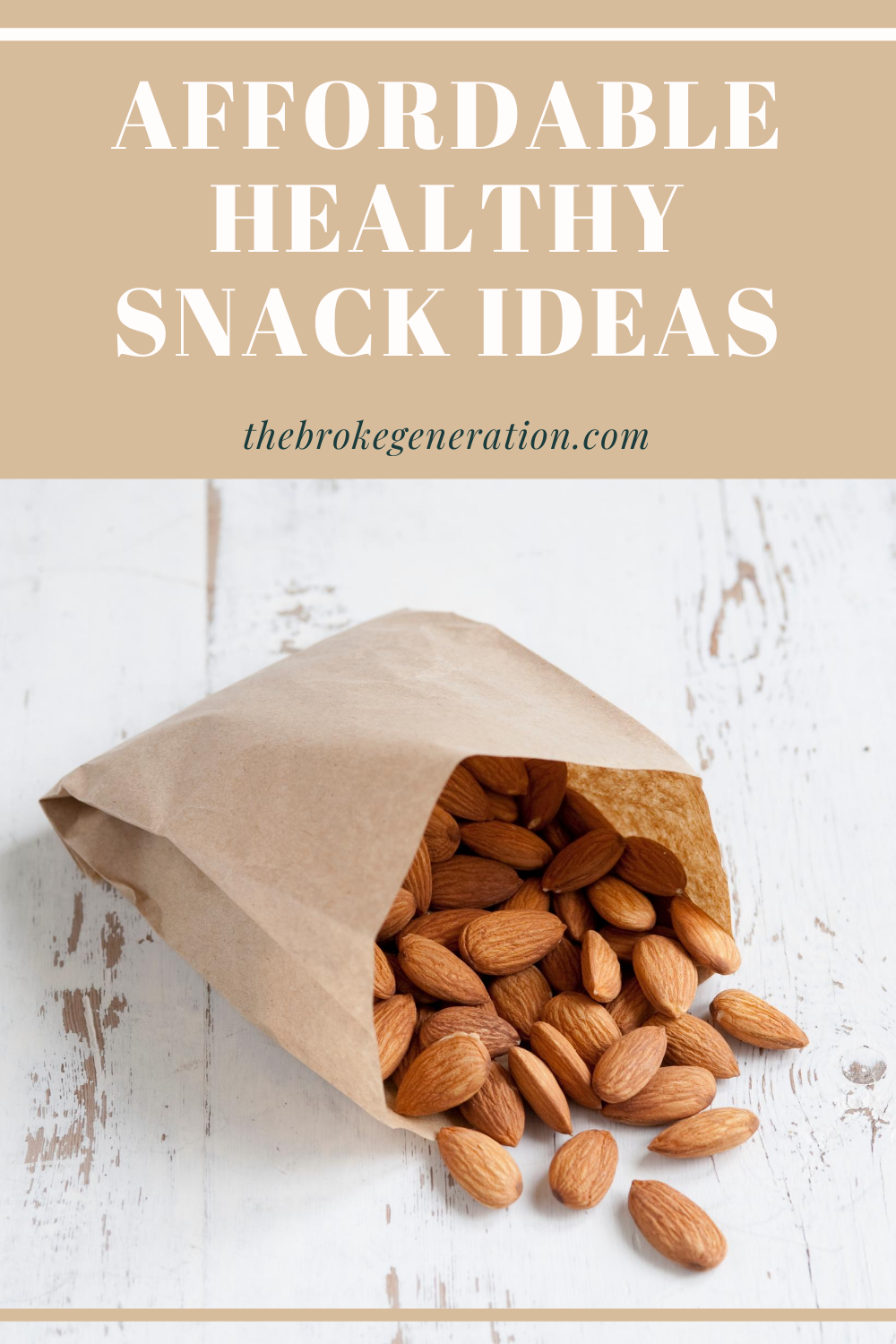 Affordable Healthy Snack Ideas