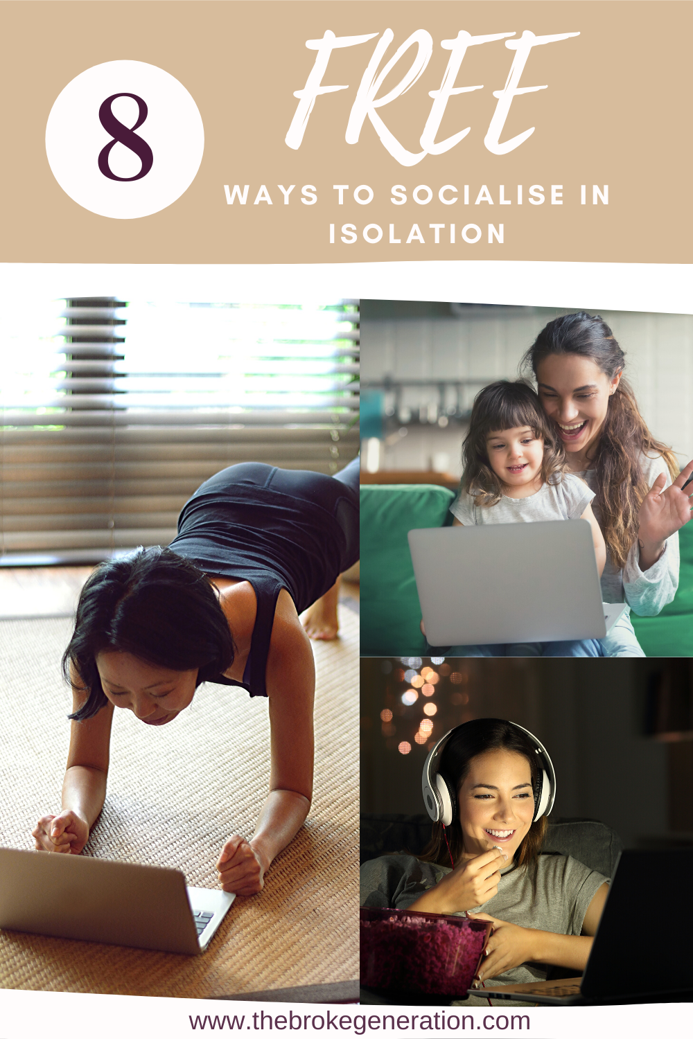8 free ways to socialise while in isolation