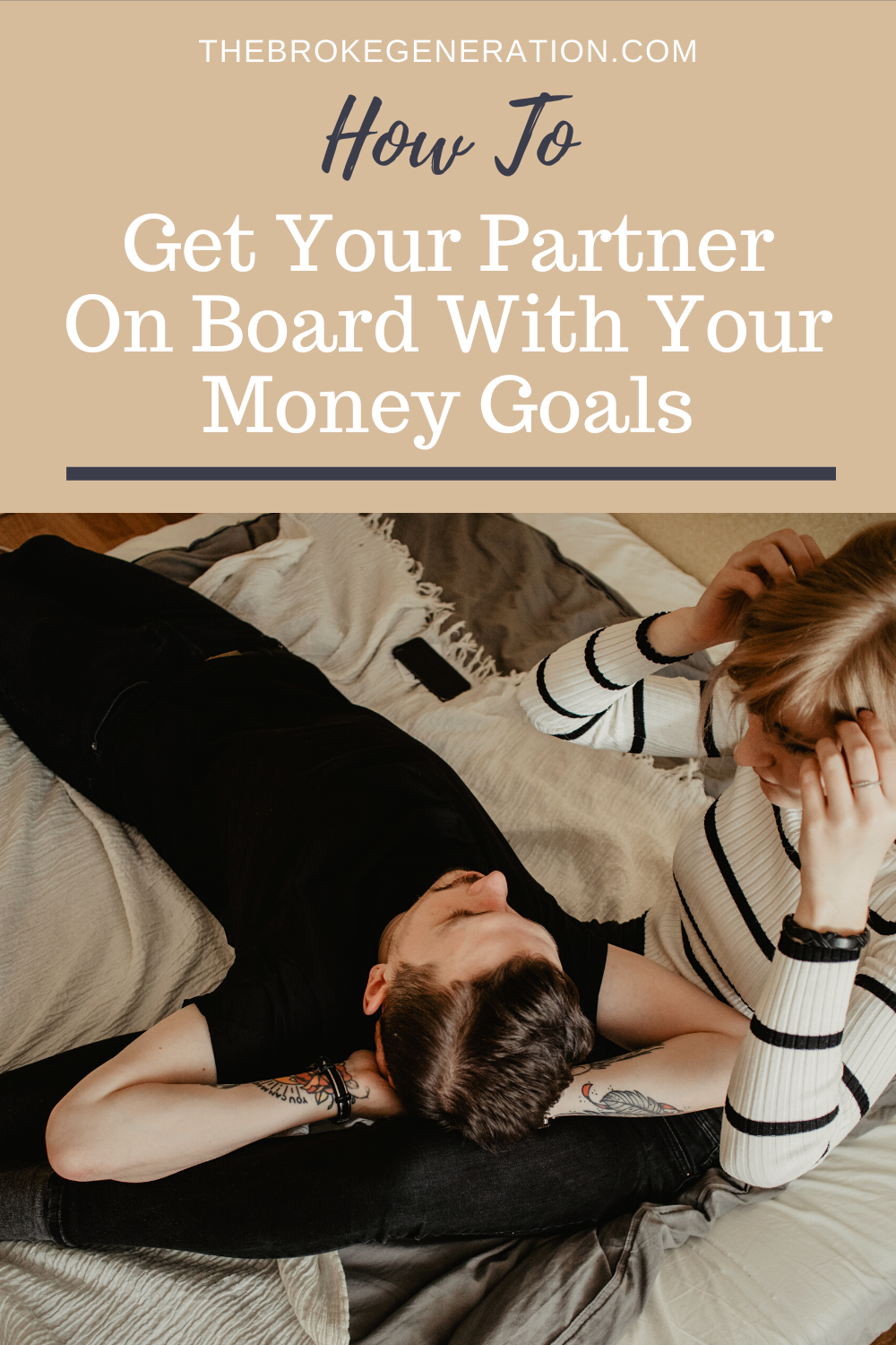 How to Get Your Partner On Board With Your Money Goals