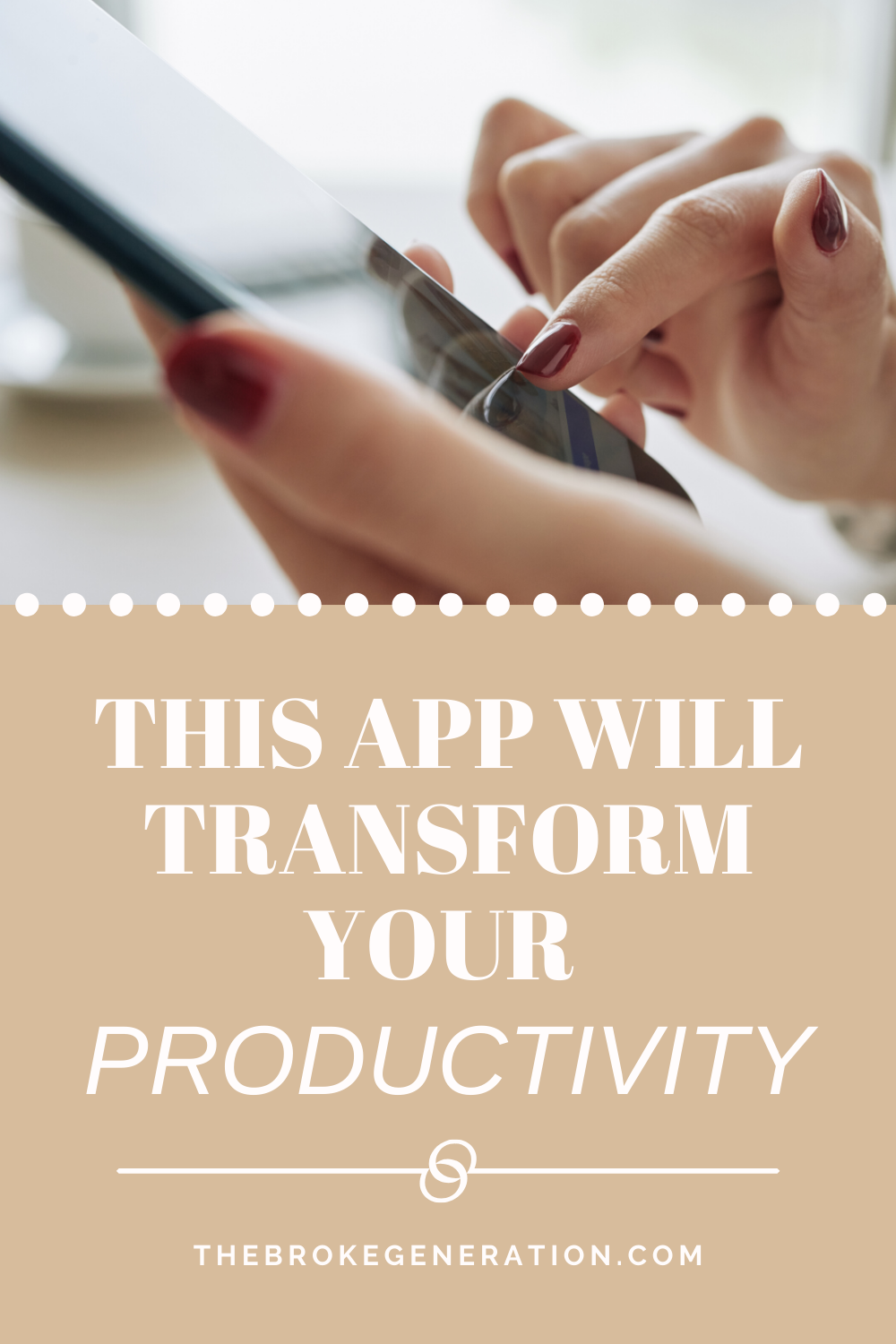 This App Will Transform Your Productivity