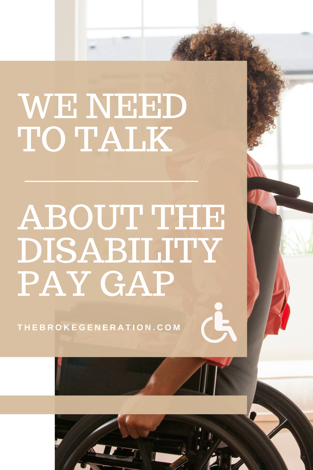 We need to talk about the disability pay gap