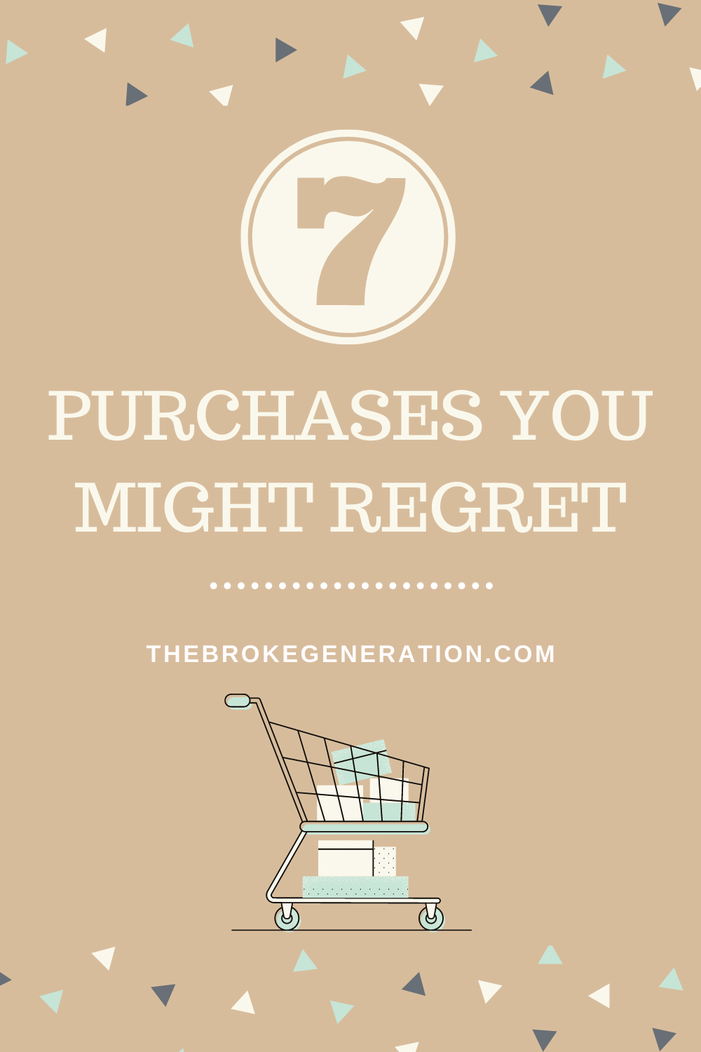 7 Purchases You Might Regret